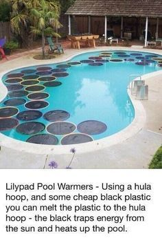 How-To: Lily Pad Pool Warmers