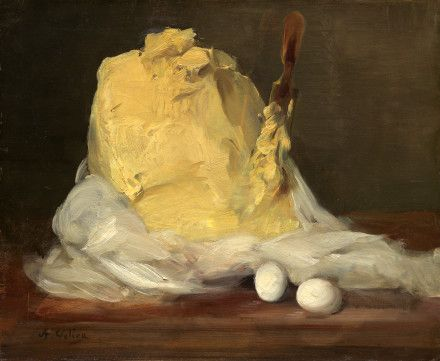 Mound of ButterVollon, Antoine French, 1833 - 1900 Mound of Butter 1875/1885 oil on canvas overall: 50.2 x 61 cm (19 3/4 x 24 in.)