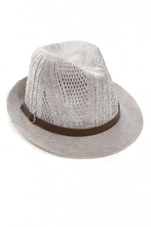 Plus Size Indiana Woven Fedora Hat | Fashion To Figure