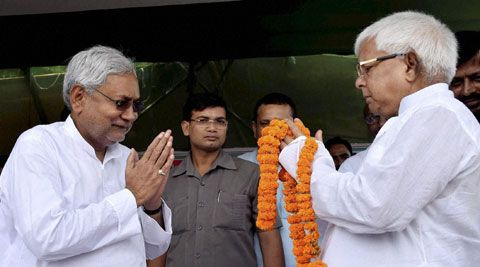 Nitish to be CM, Lalu to launch nation-wide stir against Modi - http://thehawkindia.com/news/nitish-to-be-cm-lalu-to-launch-nation-wide-stir-against-modi/