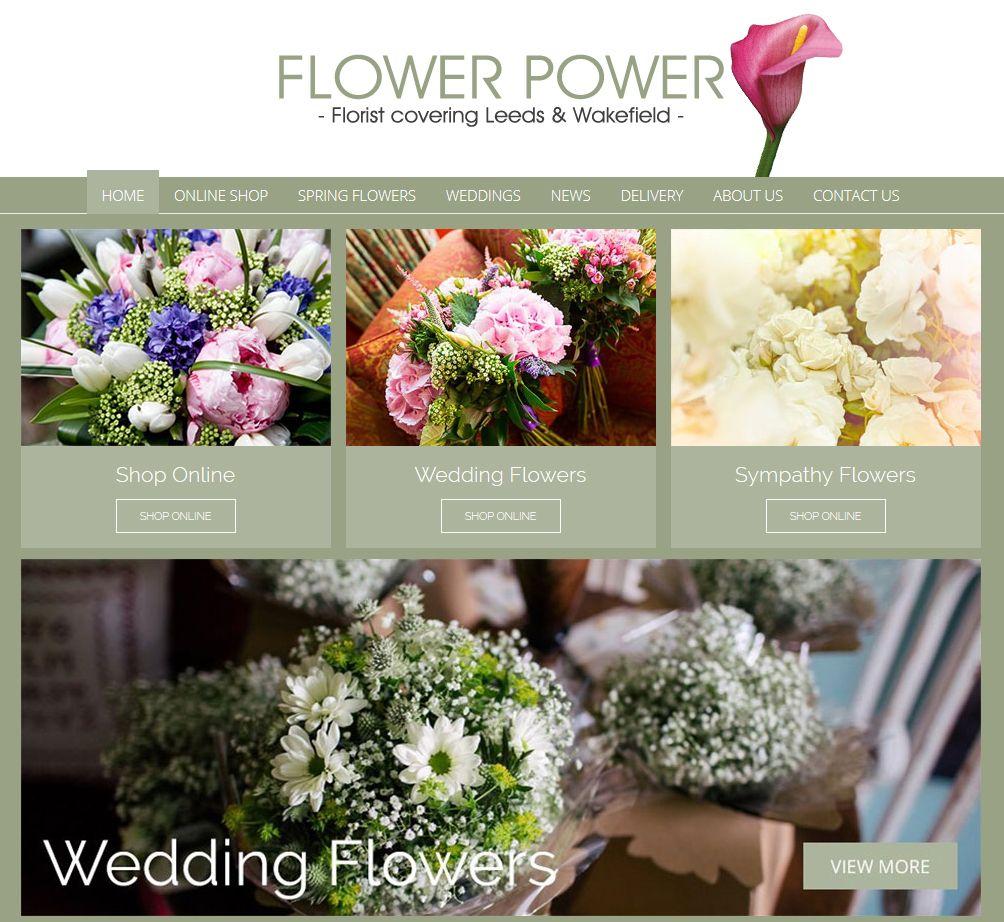 Flower Power Florist Rothwell Leeds Florist Window Clients
