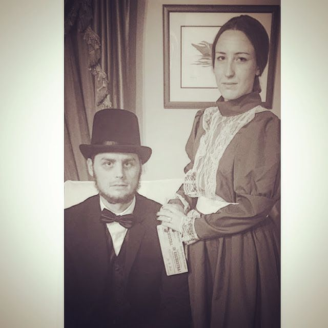 Halloween Costume \u2014 Abe and Mary Todd Lincoln Boo Pinterest - work halloween ideas