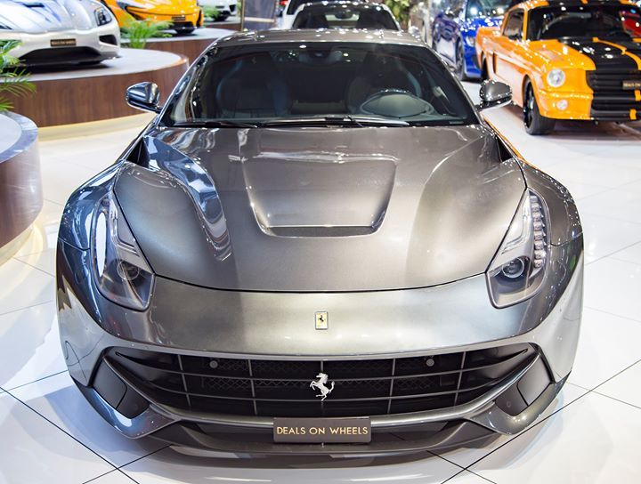 2013 Ferrari F12 Berlinetta - Full Service History  Service - vehicle service contract