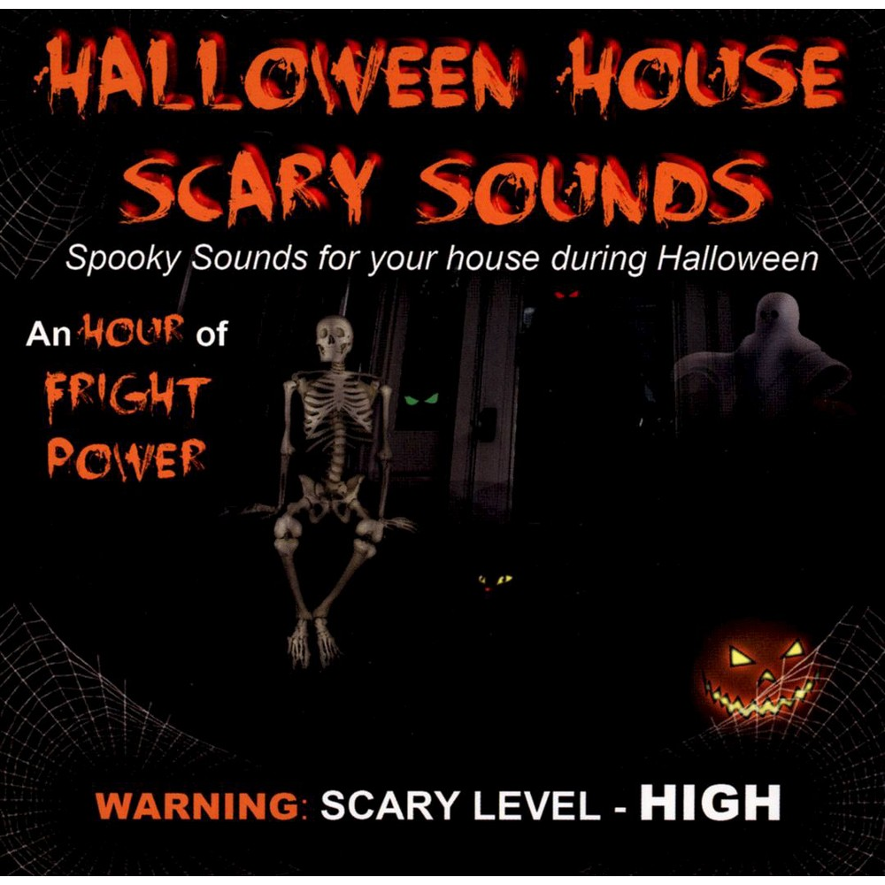various halloween house scary sounds cd