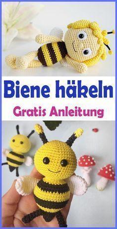 Photo of Crochet Amigurumi Bee – Free & Easy Instructions – Crochet for Baby – # A … Crochet #Nail – Nail
