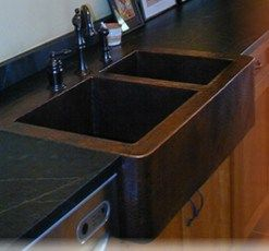 What Faucet Goes with a Copper Sink | Large kitchen sinks, Sinks ...