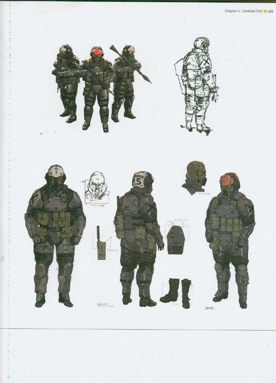 Metal Gear Solid Peace Walker Official Artwork Metal Gear Gear Art Metal Gear Solid