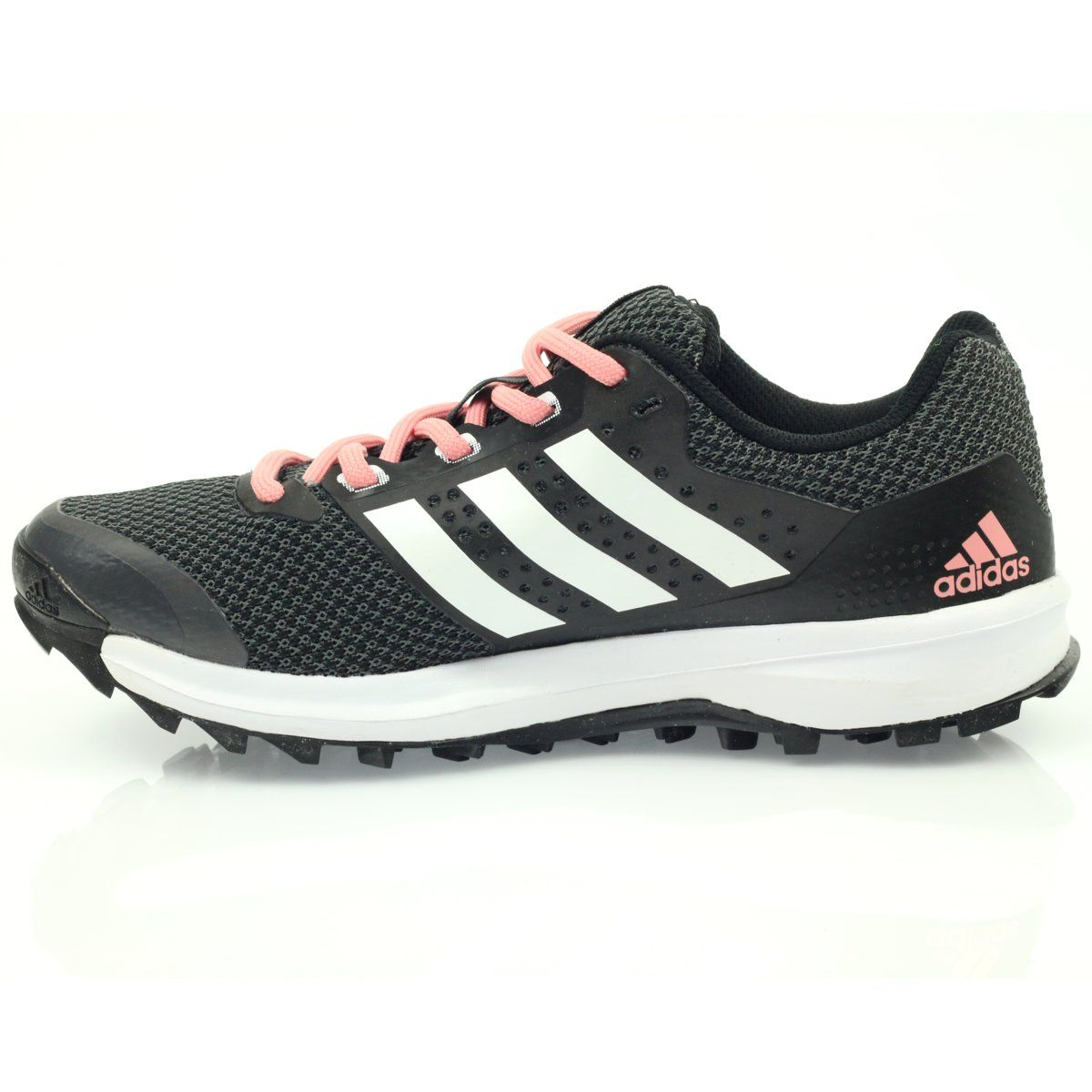 Buty Biegowe Adidas Duramo 7 Trail W Czarne Rozowe Szare Adidas Sneakers Shoes Adidas