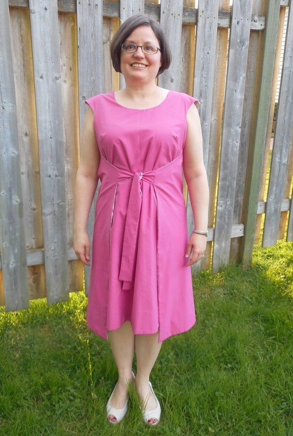 Simplicity Misses\' Jiffy Reversible Wrap Dress 1356 pattern review ...