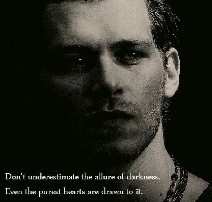 Klaus Mikaelson Quotes: The Vampire Diaries In 2019
