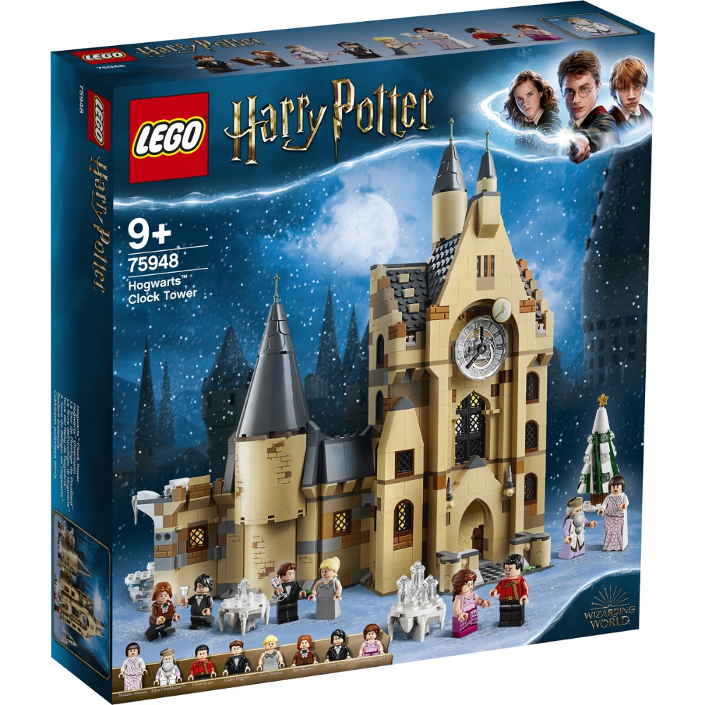 Lego Harry Potter And The Goblet Of Fire Hogwarts Clock Tower 75948 Lego Harry Potter Hogwarts Harry Potter Hogwarts Castle