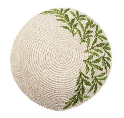 crochet yarmulke pattern free - Google Search | Crochet | Pinterest ...