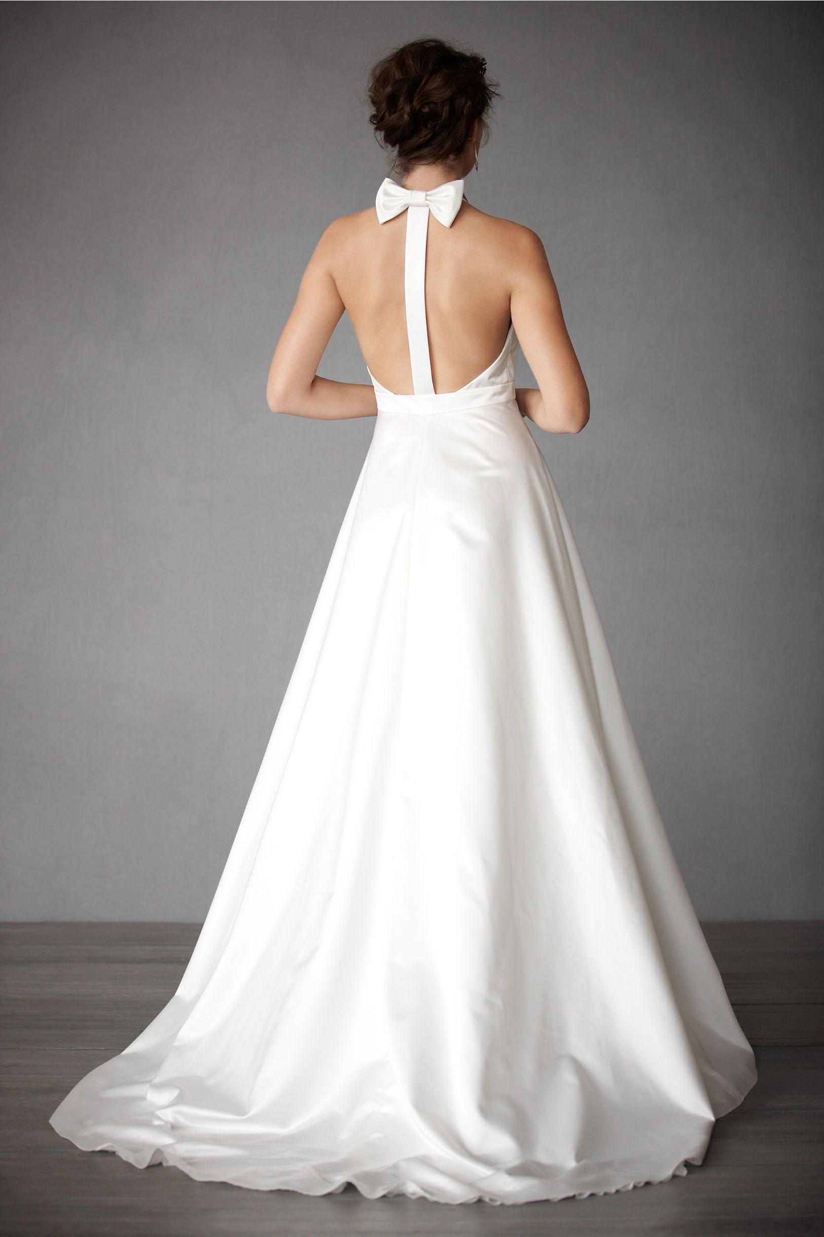 bhldn Swan Gown