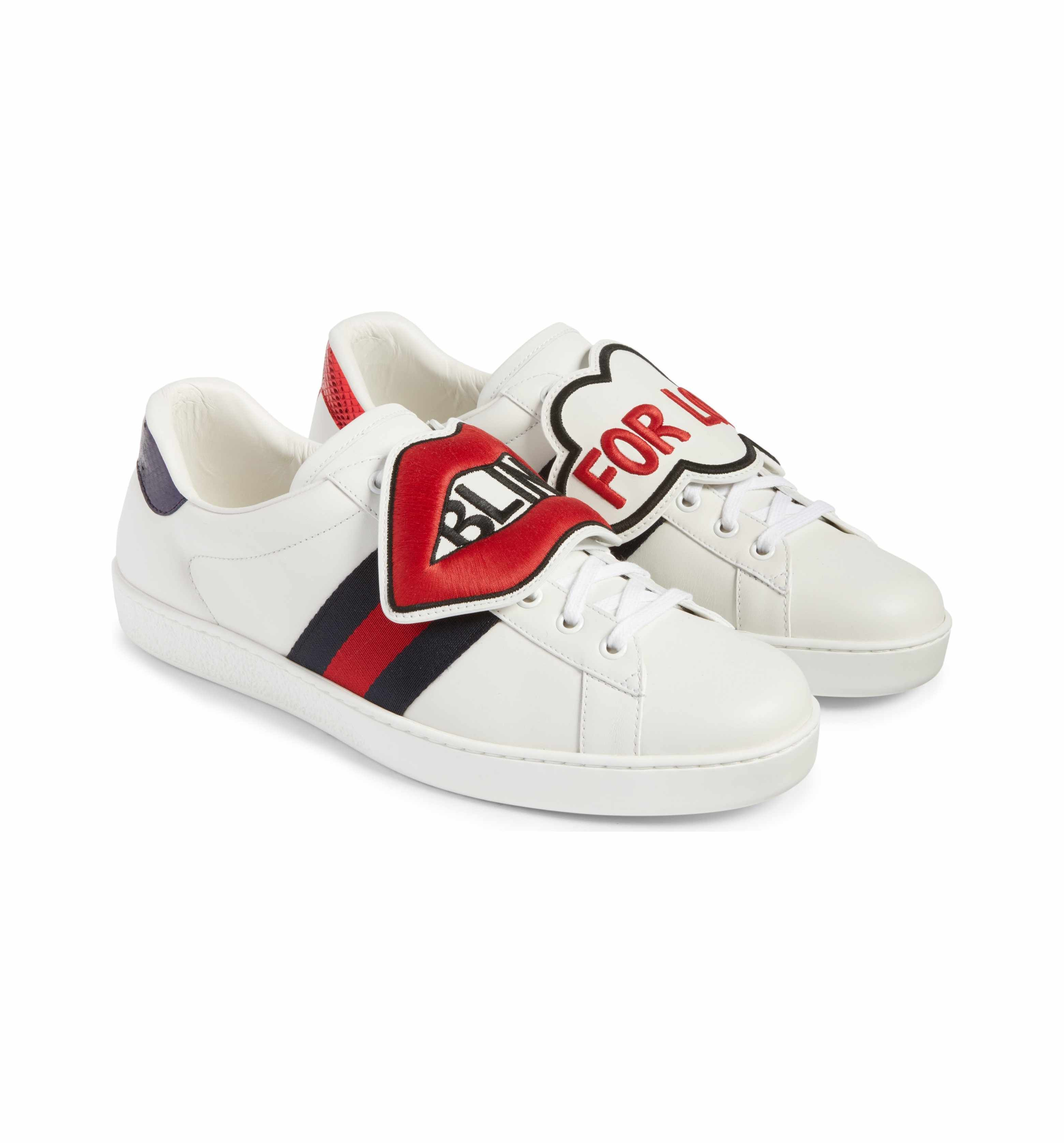 7caeb7591 Main Image - Gucci New Ace Embroidered Patch Sneaker (Men) | Fall ...