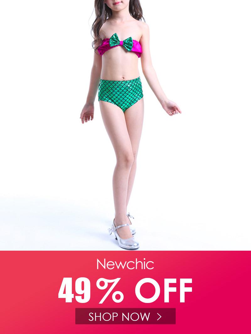 طفل الفتيات حورية البحر بيكيني مجموعات ملابس السباحة للأطفال طفل الفتيات ملابس الصيف Swimwear Swimwear Girls Fashion 2020