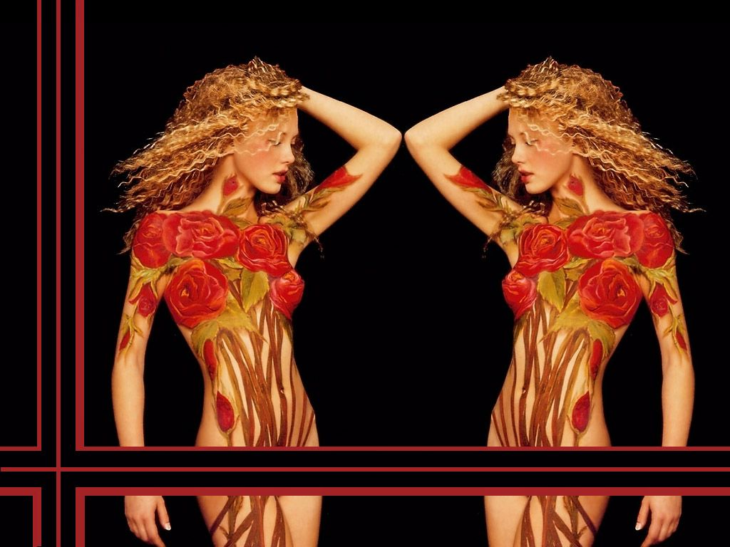 ART FORMS OF THE HUMAN BODY | Body Art Wallpaper | ART FORMS USING ...