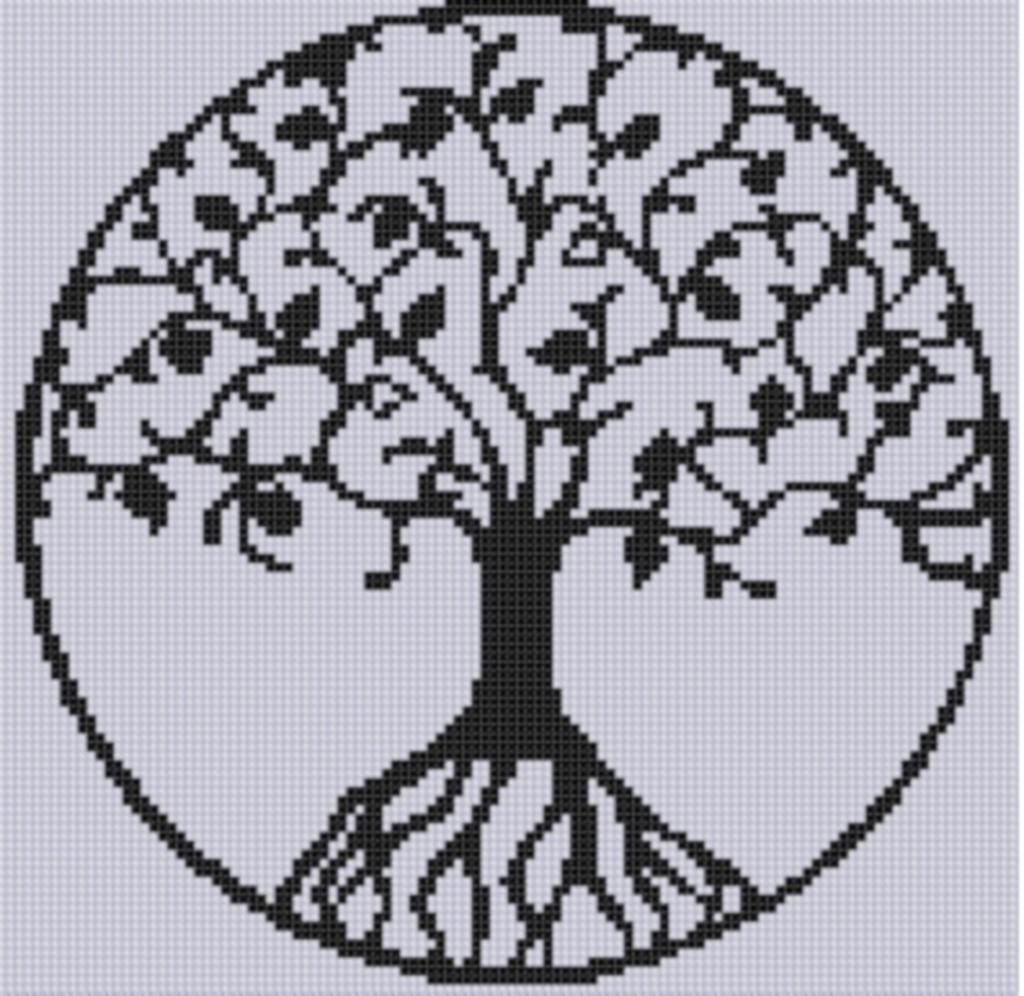 Tree of life cross stitch pattern cross stitch stitch and patterns tree of life cross stitch pattern bankloansurffo Choice Image