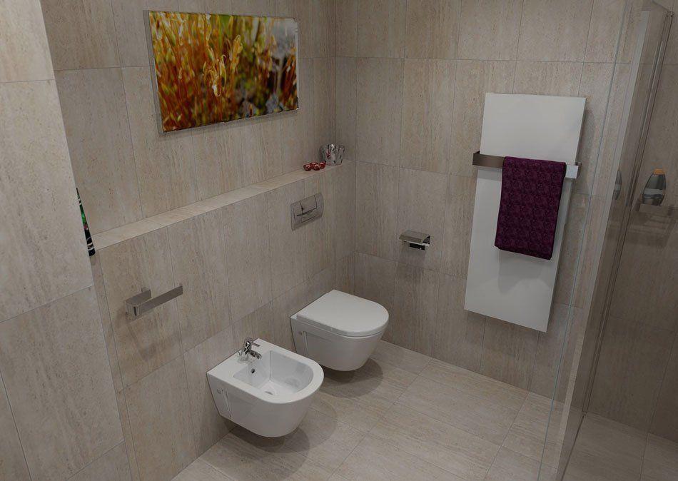 Radiateur sèche-serviettes MAGNIFICA avec un design élégant, version - puissance seche serviette salle de bain