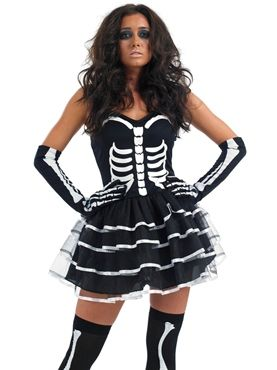 b9bb4c652d2 Skeleton Tutu Dress Costume... Great to team with Day of the Dead ...