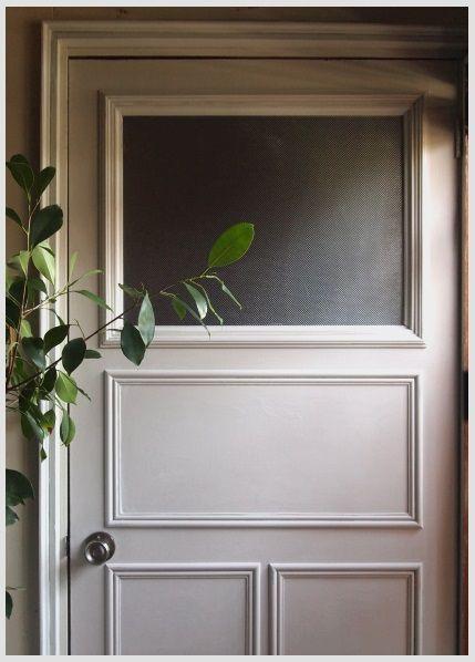Diy 室内ドア 作業部屋 のリメイク 完成 マホガニーなdaily