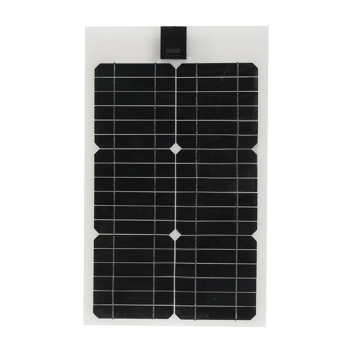 Elfely 20w 12v Solar Ciudad Semi Flexible Solar Panel 3m Cable Para Coche Rv Barco Flexible Solar Panels Solar Panels Solar City