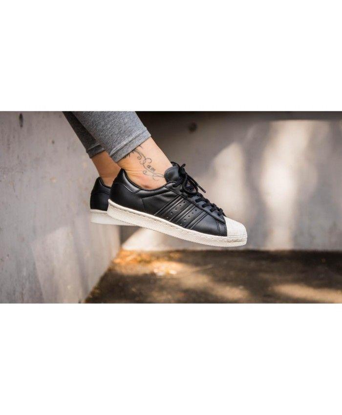 Adidas australia nuova superstar degli anni ottanta tappo bianco nero dei formatori