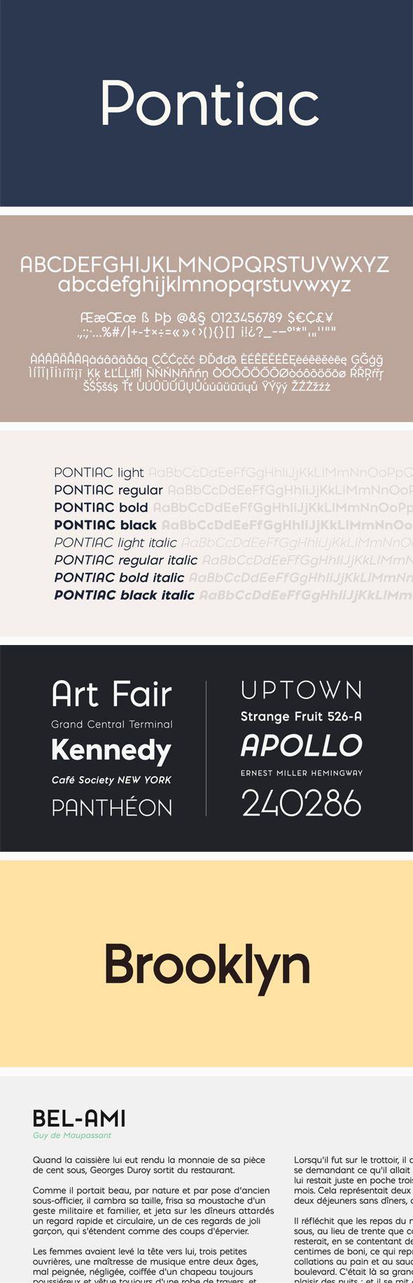Download Pontiac Font Pack | Font packs, Graphic design fonts, Sans ...