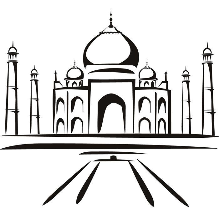 Resultado De Imagen Para Taj Mahal Dibujo Taj Mahal Sketch Taj Mahal Drawing Taj Mahal