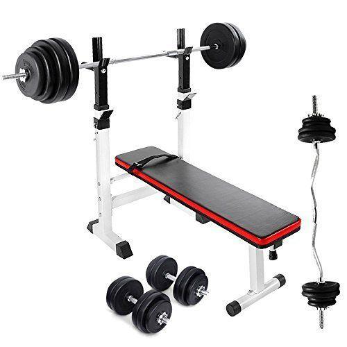 Tnp Accessories Adjustable Folding Weight Bench 30kg Dumbbell Set 60kg Barbell Bar Set 25kg Barbell Weight Benches At Home Gym Best Adjustable Dumbbells
