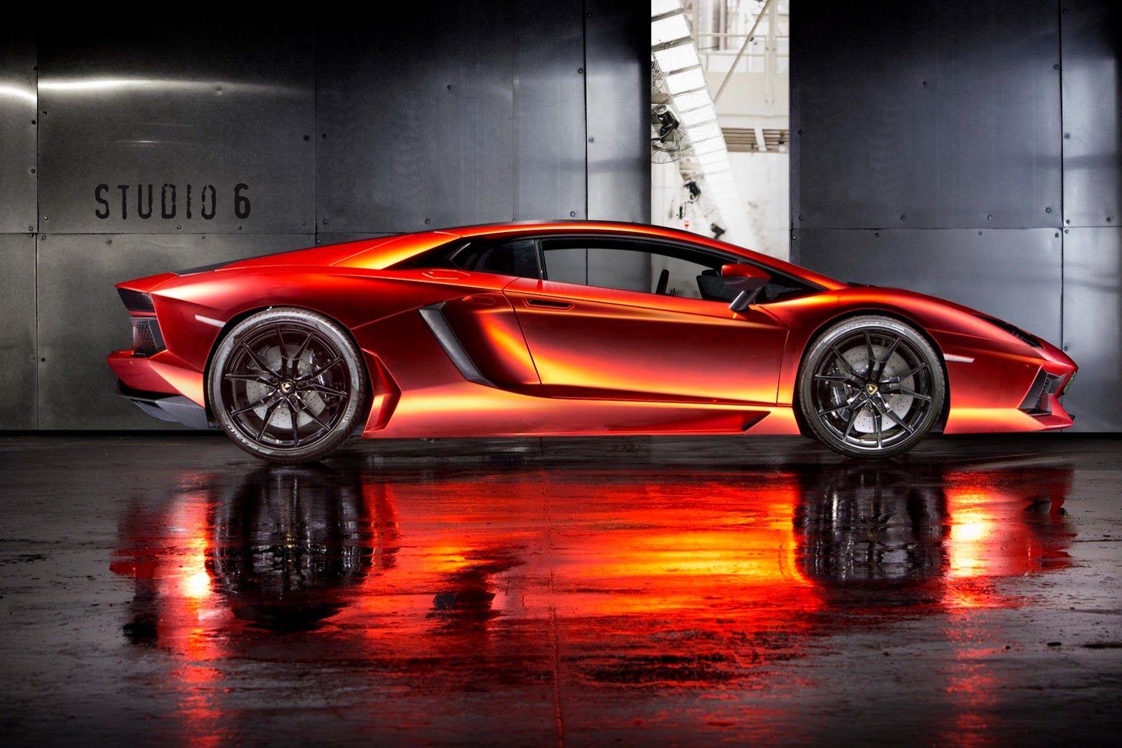 Aventador Matte OrangeRed Chrome Wrap Will