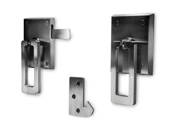 Elise Modern Stainless Steel Ring Gate Latch Build Your