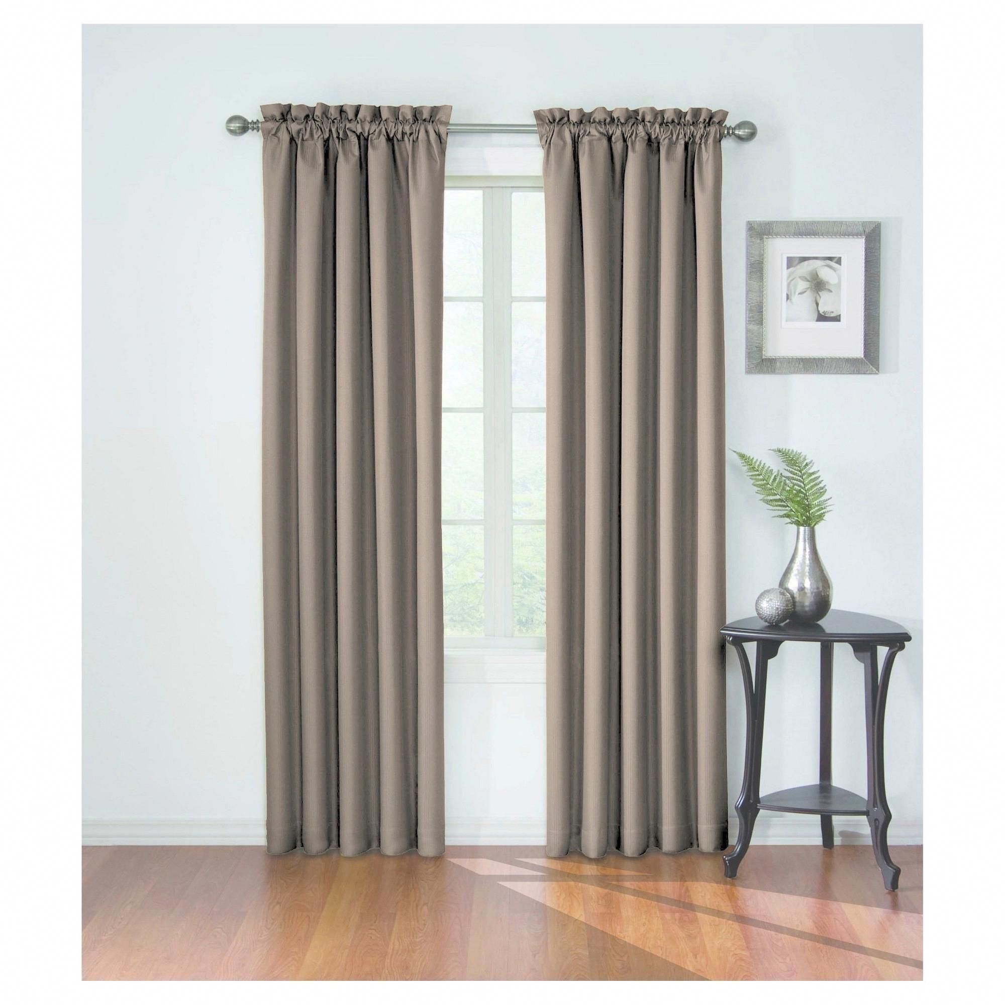 Corinne Blackout Curtain Tan 42 X63 Eclipse Roomdarkeningideas Blackoutcurtainsforbedroom Black Blackout Curtains Curtains Grey Blackout Curtains