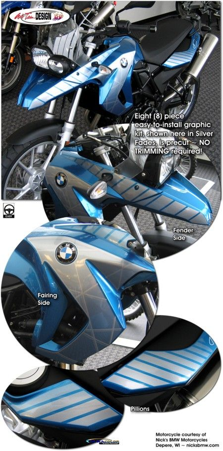 bike specific graphic kits for bmw f 650 gs from auto trim design