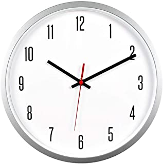 Amazon Com 12 Inch Wall Clock In 2020 Wall Clock Modern Wall Clock Clock