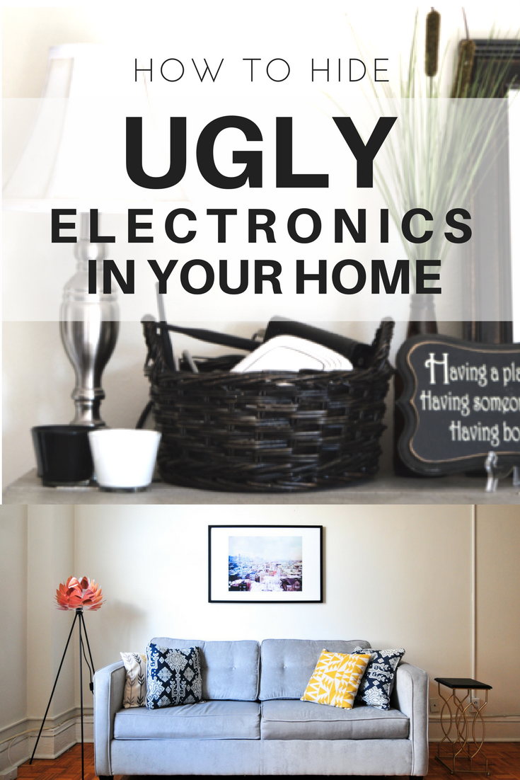 DIY Hack: How to Hide Ugly Electronics in Your Home | Feng shui ...