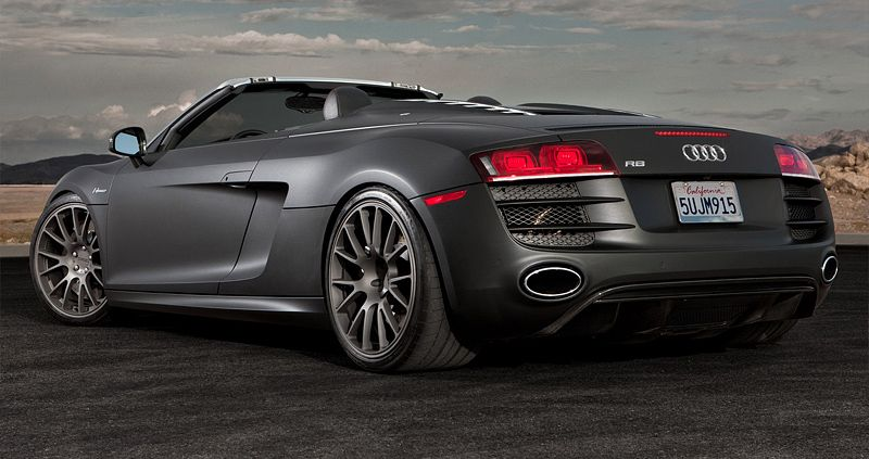 2010 Audi R8 Spyder STaSIS Engineering