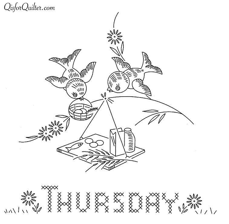 Vogart-671-Bluebirds-Thursday | NAPKINS *SERVILLETAS* | Pinterest ...