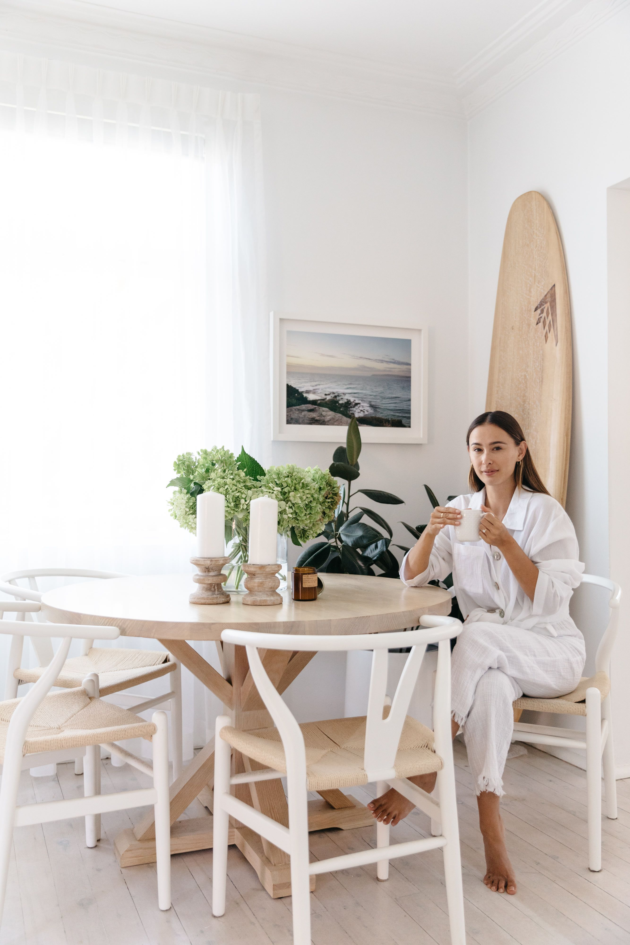 Beauty Editor Eleanor Pendleton's Serene Australian Home Is a Lesson in Minimalism