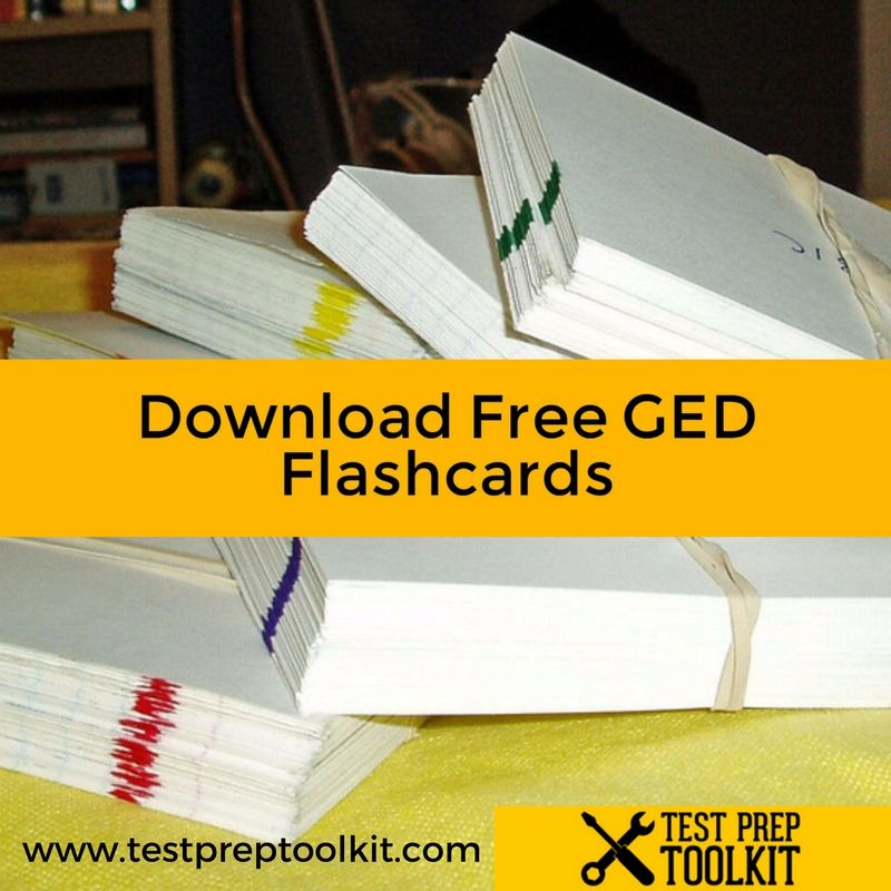 GED Writing Flashcards The 1 GED Study Guide Site Ged