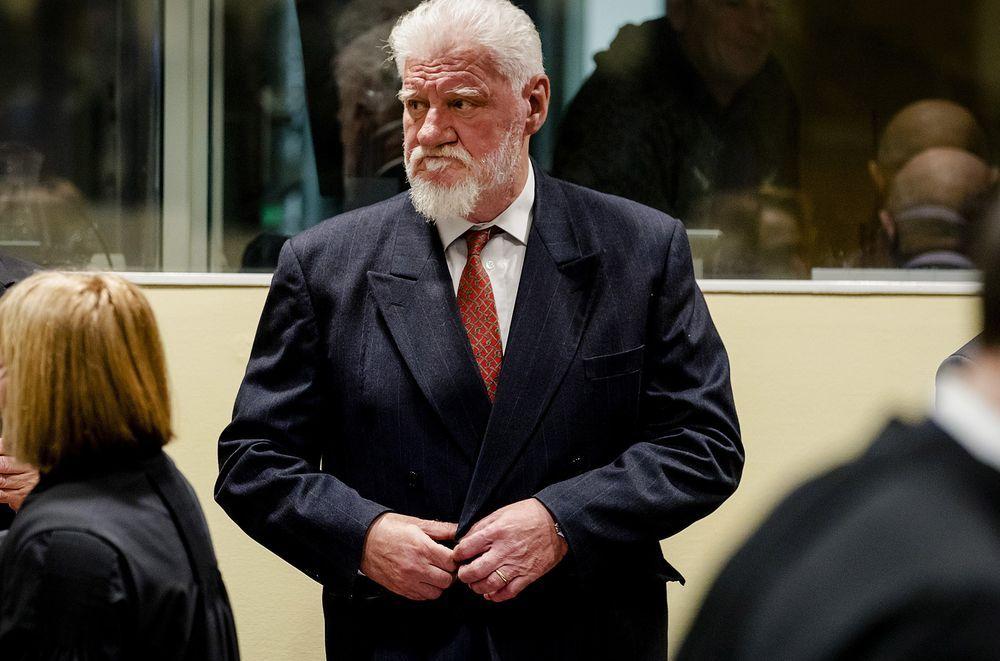 Convicted War Criminal Kills Himself With Poison At Un Court War Criminal Military News Court