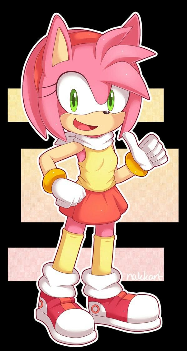 amy rosesonic the hedgehog works archive of our own - 600×1125