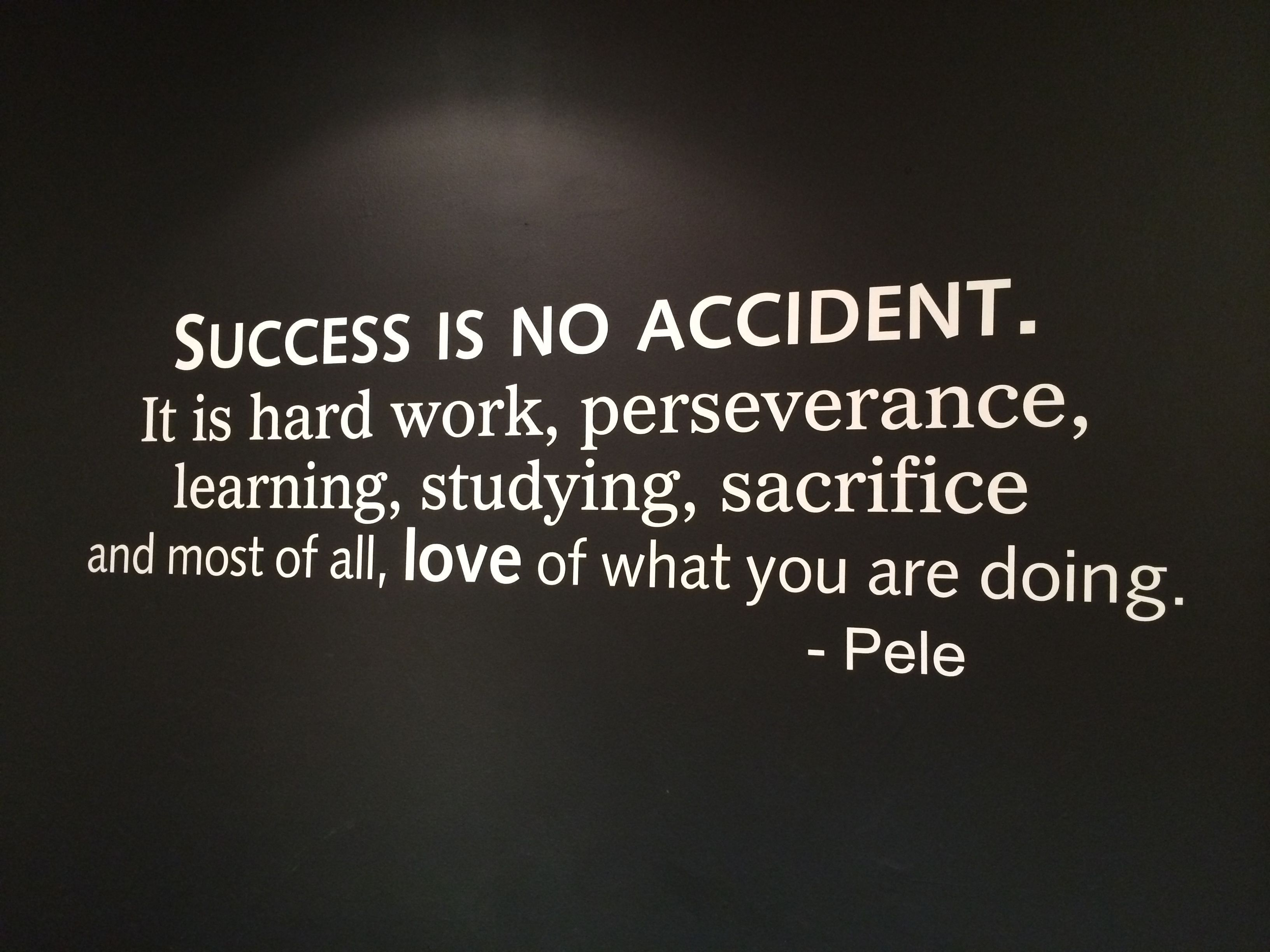 Success Is No Accident life quotes quotes quote tumblr success life quotes and sayings