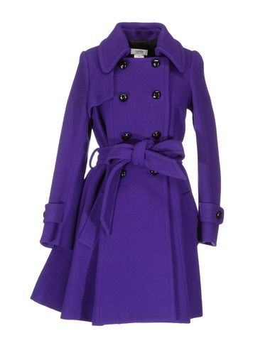 Sonia by sonia rykiel purple coat. The perfect purple coat for a Northwestern game!