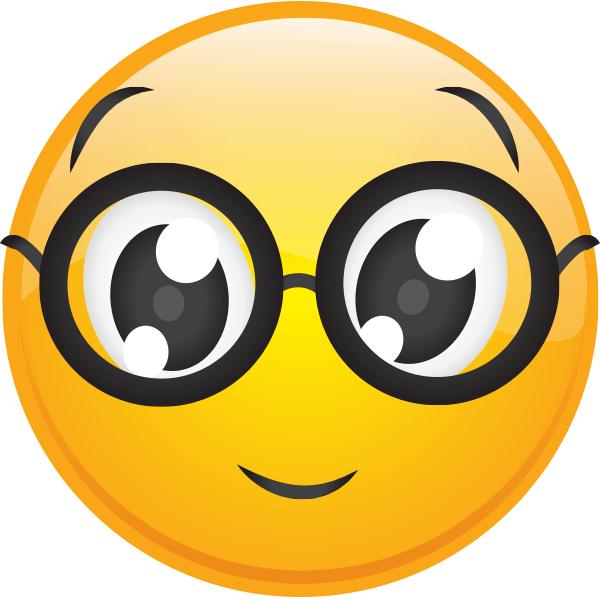 Nerd Emoji Sticker Sticker By Jennyxdodds Emoji Emoji Images Emoji Stickers