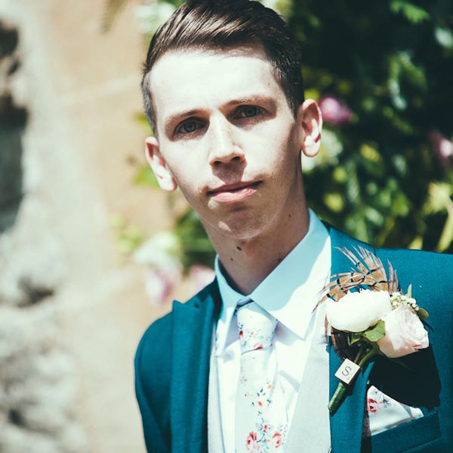 Royal blue slim fit grooms wedding suit hire | Slim Fit Hire ...