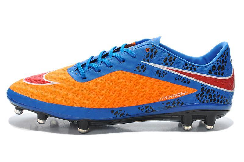 detailed look 78778 ab675 Lightest 2014 World Cup Nike Hypervenom Phantom FG Blue ...