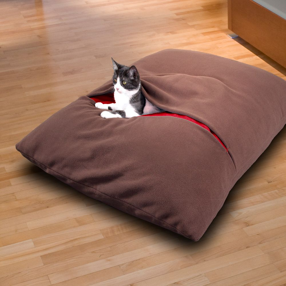 DIVAN Due cat bed filled with high end latex flakes. 7 colour ...