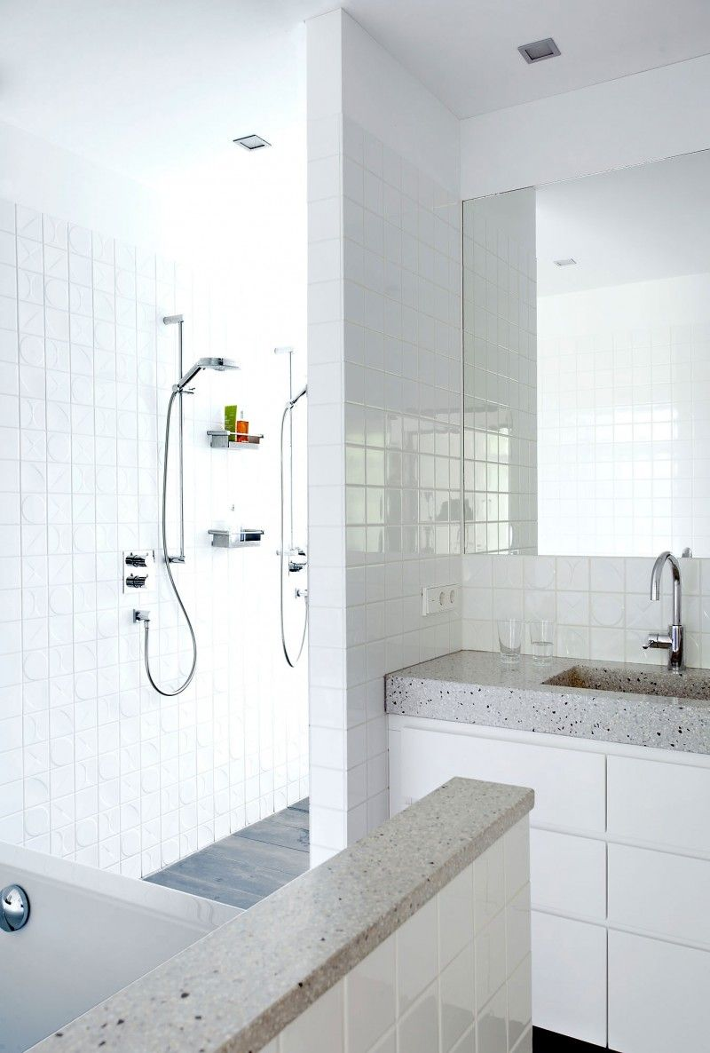 Rietveld Bungalow By Remy Meijers Modern Shower Room Bathroom Inspiration Small Basement Remodel