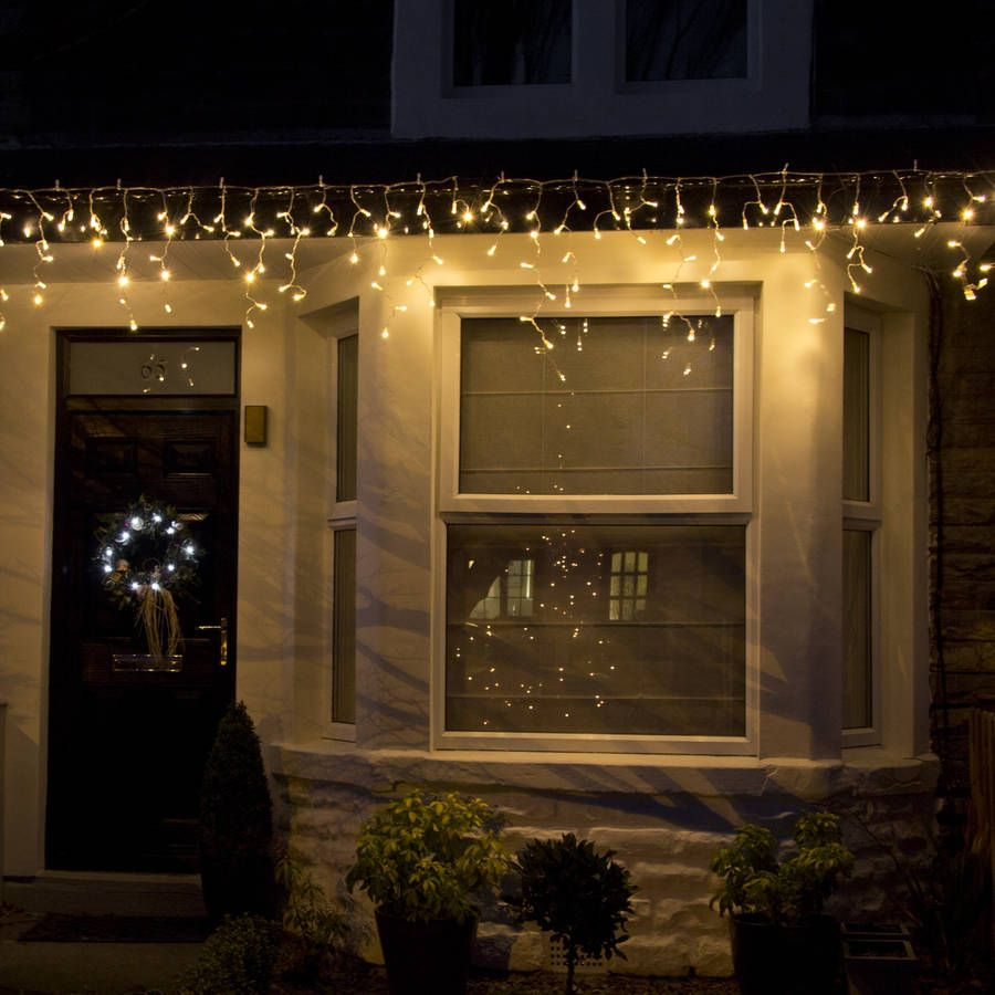 Warm white outdoor icicle lights chrismakah pinterest icicle warm white outdoor icicle lights aloadofball