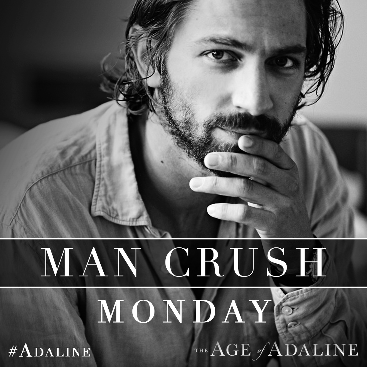Did you first meet our #MCM Michiel Huisman in Game of Thrones, Nashville & Orphan Black? Now let him capture your heart in The Age of Adaline.